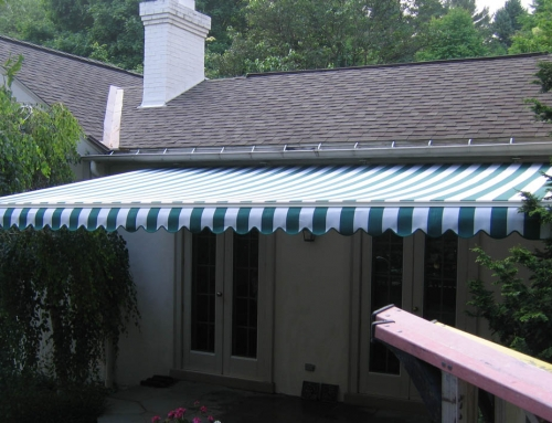 SunAir Motorized Retractable (Eave Mounted)